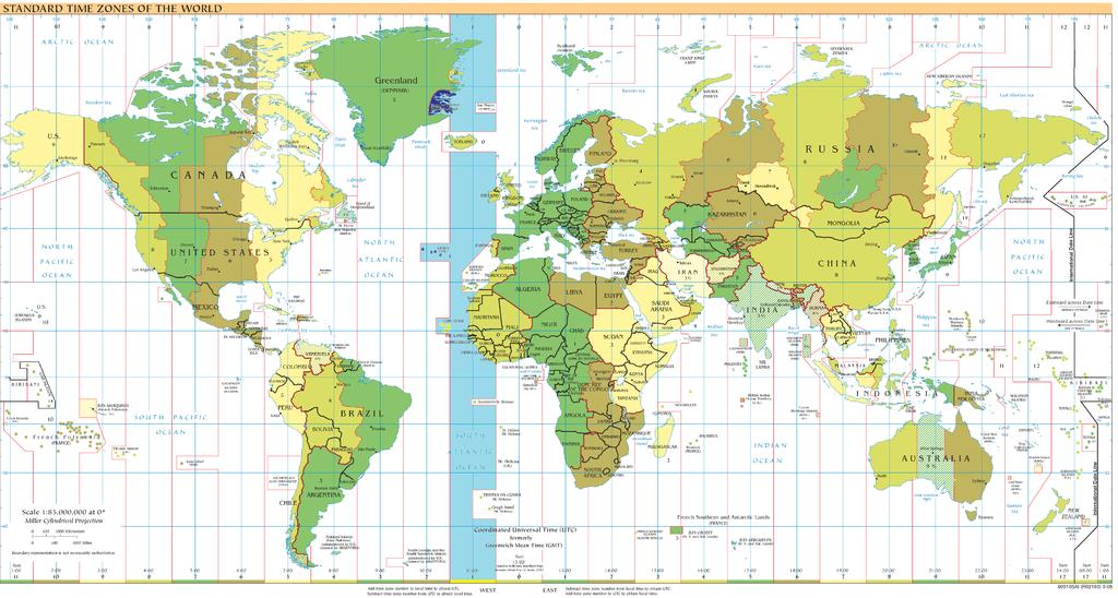 Kapverdische Zeitzone auf der Weltkarte. Quelle: https://commons.wikimedia.org/wiki/File:Timezones2008_UTC-1.png