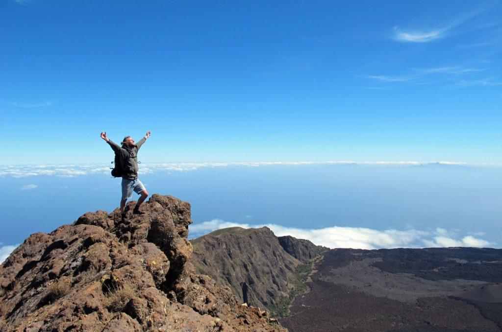 Grenzenlose Freiheit über den Wolken Kapverdens
